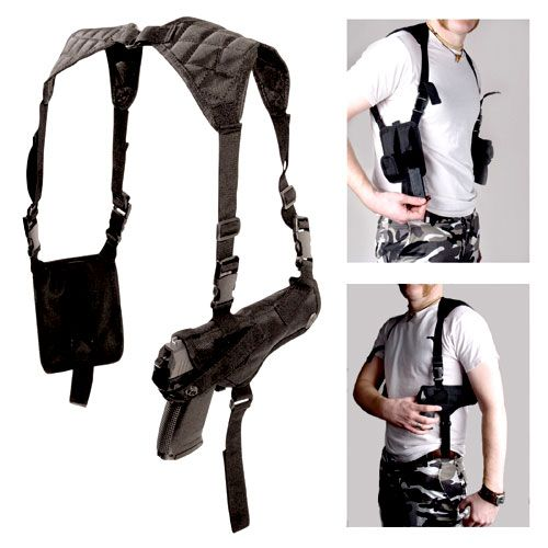 Crosman Soft Air Shoulder Holster  I like the quilted