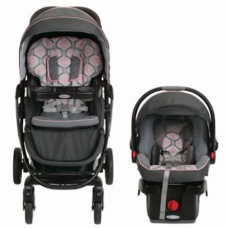 Graco Modes Click Connect Travel System Car Seat Stroller Combo