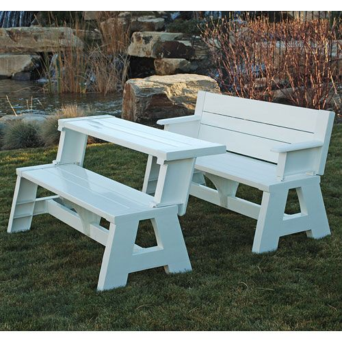 Convert A Bench Plastic Folding Picnic Table Bench Multiple Colors Walmart Com Convert A Bench Picnic Table Bench Picnic Table