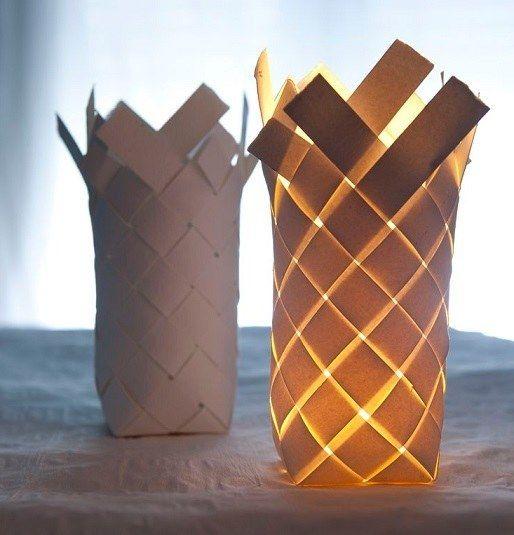 die sch nsten lampen erstellen sie einfach aus papier sehen sie sich hier die sch nste. Black Bedroom Furniture Sets. Home Design Ideas
