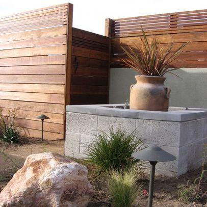 vallas del mar terrazas paredes cierre muros concreto vallas de madera