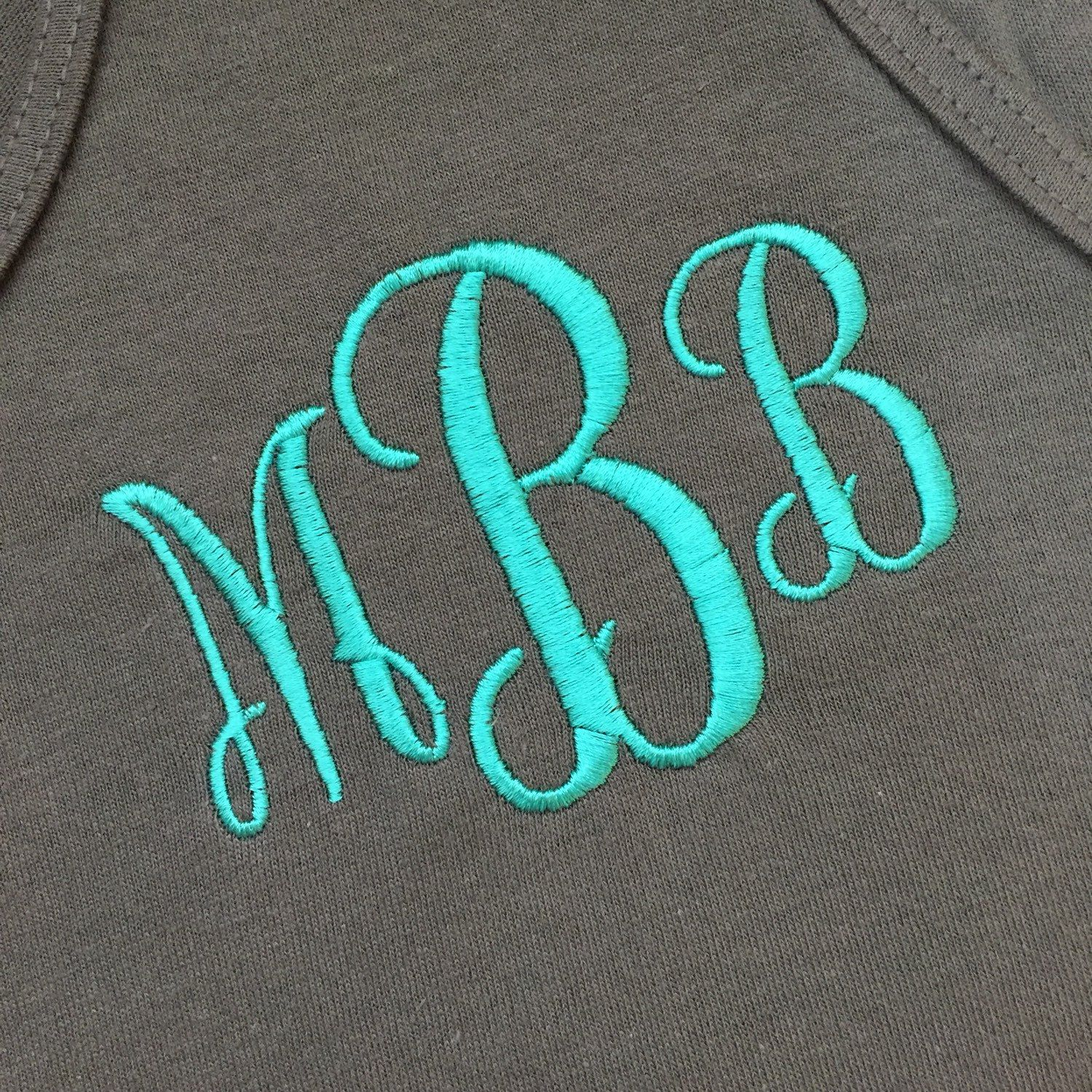 Ladies Monogrammed Tank Top, Custom Girls Monogram Swimsuit Cover Up or  Gym, Personalized Embroidered Initials Name Beach Top Shirt