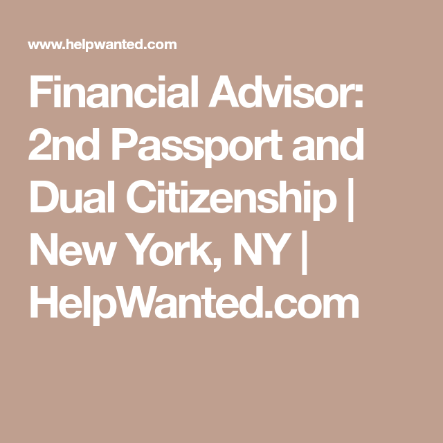 Pin On International Financial Adviser Jobs
