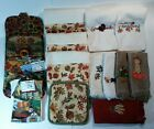Thanksgiving Lot of Potholders  Handtowels Some by Dan Morris