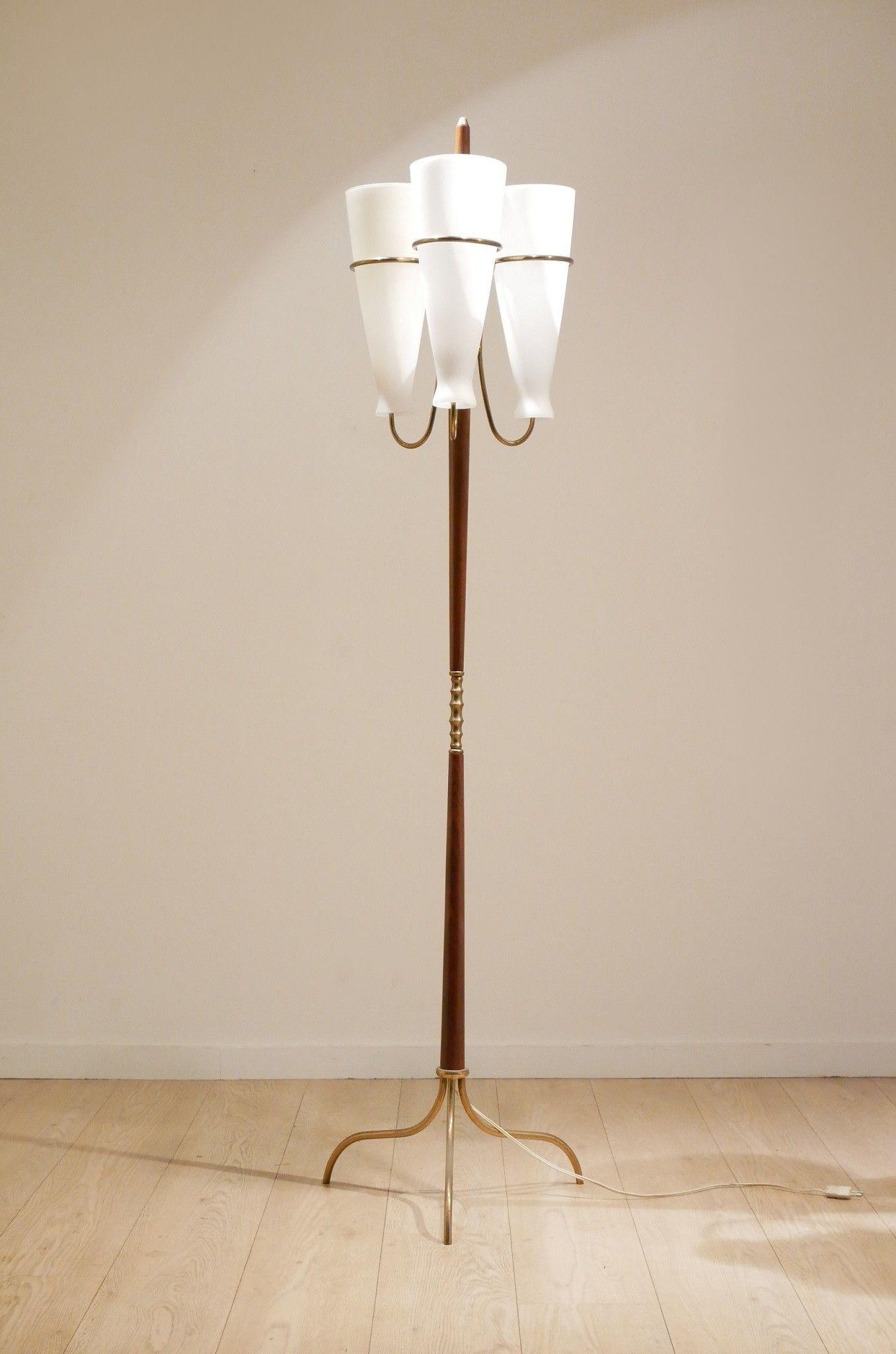 Klassische Stehlampen Chrom Boden Stand Lampe Runde Stehlampe