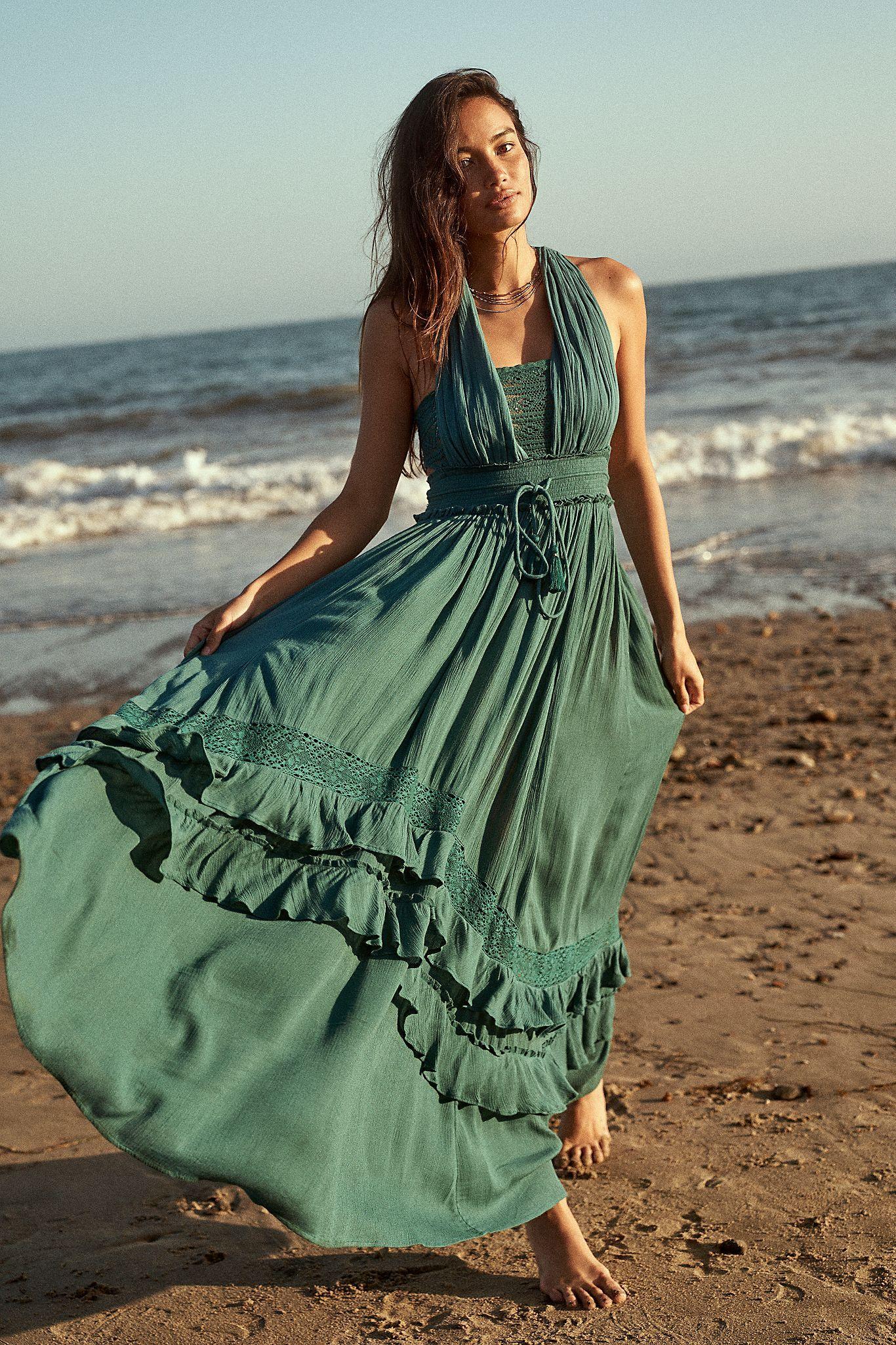 Santa Maria Maxi Dress Free People Maxi Dress Endless Summer Collection Bohemian Clothes [ 2049 x 1366 Pixel ]
