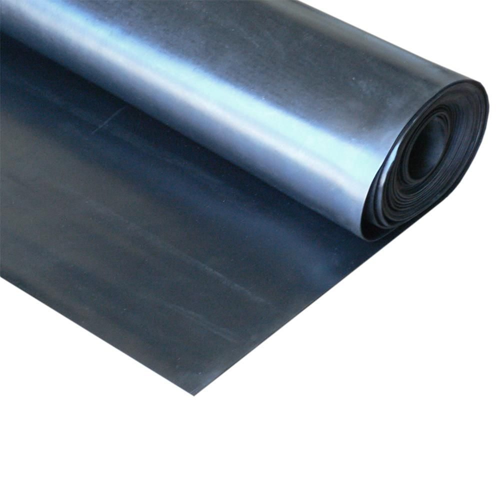 Rubber Cal Epdm 1 2 In X 36 In X 12 In Commercial Grade 60a Rubber Sheet Black Rubber Material Home Depot Adhesive