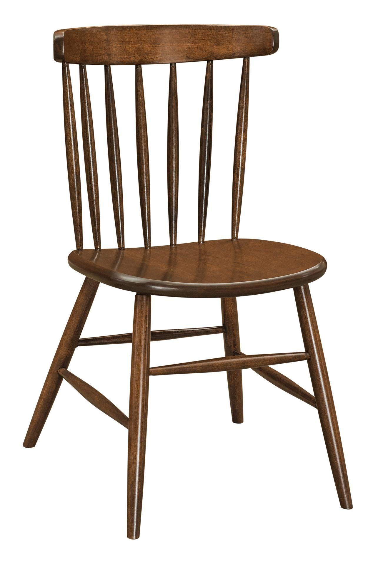 Amish Hansen Side Dining Chair Side Chairs Dining Dining Chairs Wood Dining Room Chairs