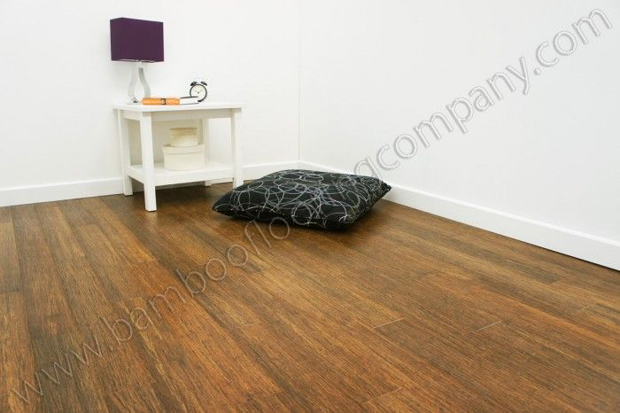 Solid Carbonised Strand Woven 110mm Black Brushed Click Bamboo Flooring 2 01m2 Clearance Stock The Company