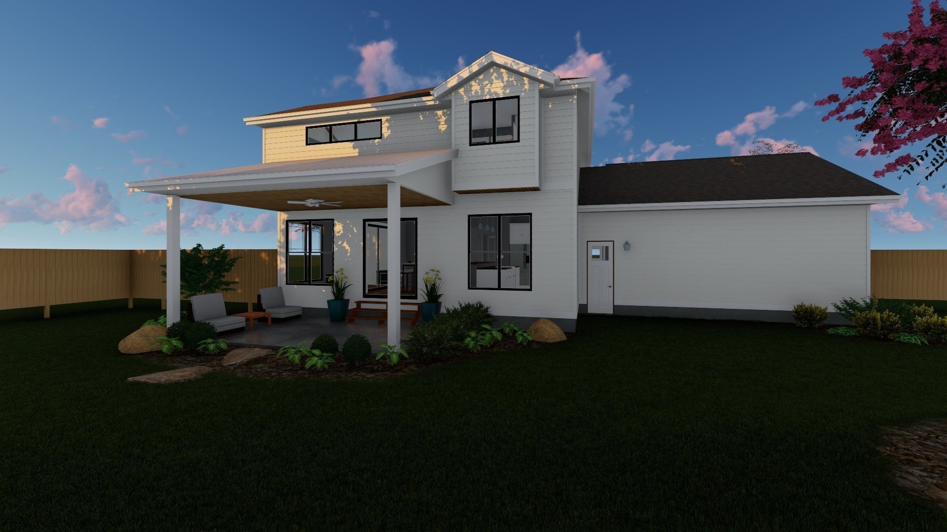 2 Story Modern Farmhouse Plan Silverton Cottage Modern
