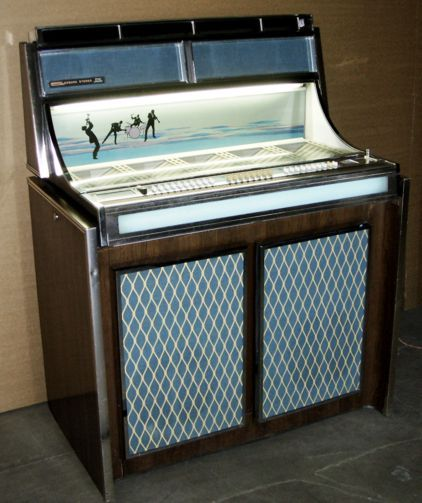 SEEBURG Model LPC-480 Vinyl Record Jukebox This jukebox is from 1964