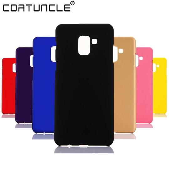 Phone Case For Fundas Samsung Galaxy A8 2018 Case 360 Hard Plastic Pc Modlilj Candy Colors Case Samsung Galaxy