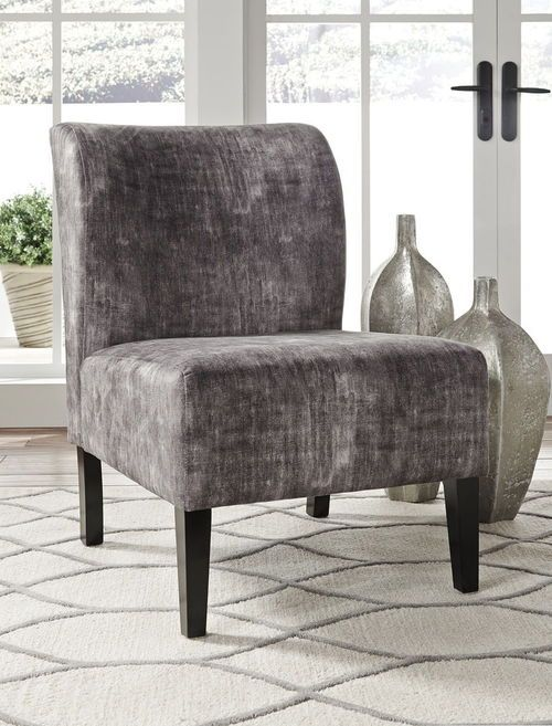 Ashley Triptis Charcoal Accent Chair Accent Chairs Chair