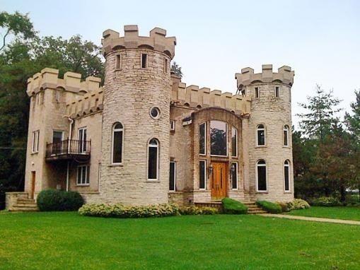 2150 Hickory Ln Schaumburg Il 9 Baths Castle House Modern Modern Castle Castle House