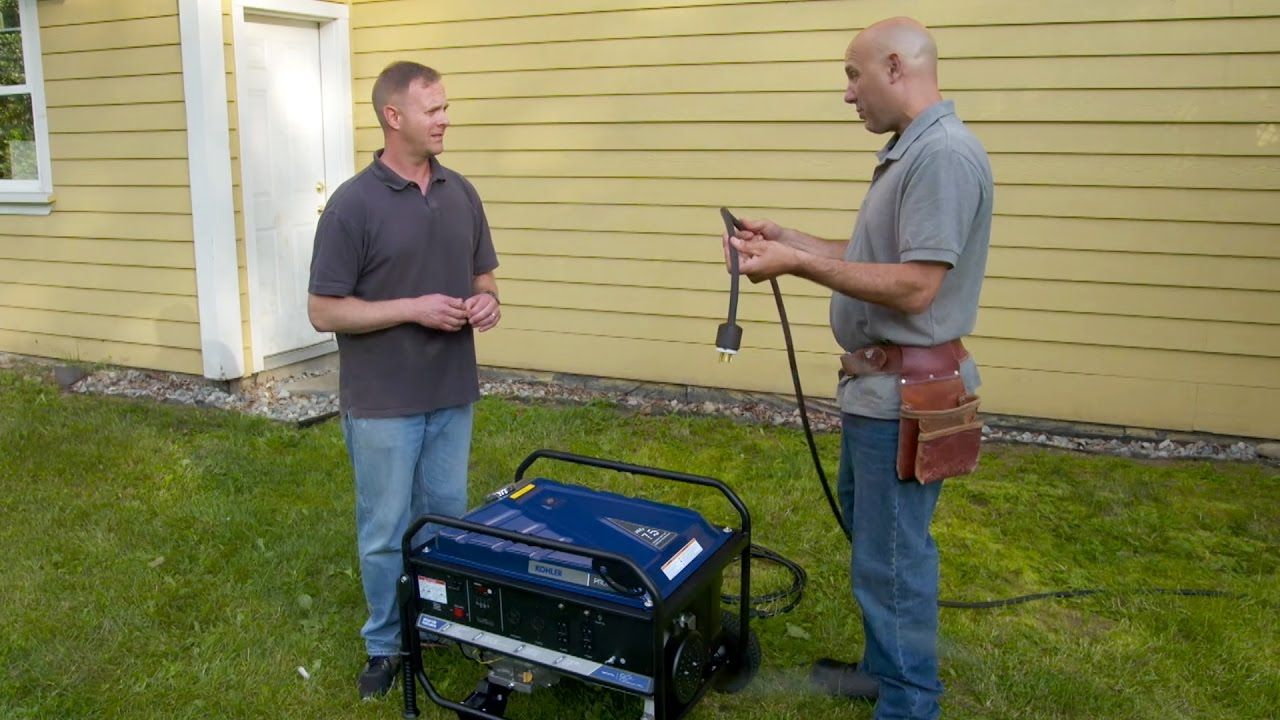 how to install a manual transfer switch for a portable generator [ 1280 x 720 Pixel ]
