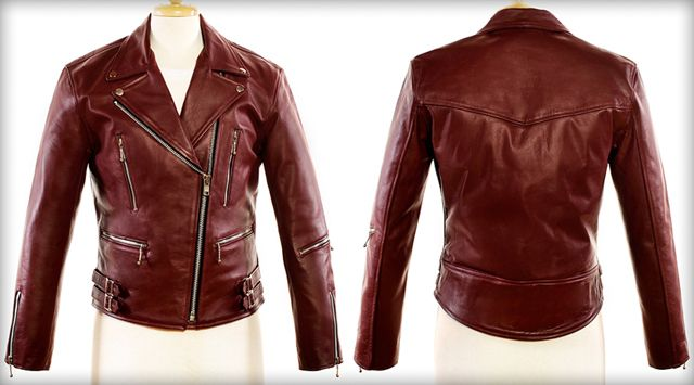 Defector The Maroon Red Leather Jacket For Men Amp Women