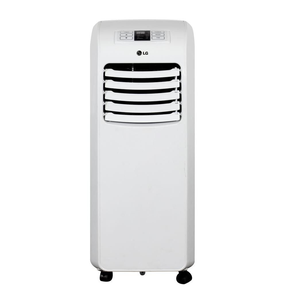 Lg Electronics 8 000 Btu Portable Air Conditioner And Dehumidifier Function With Remote Lp0815 Portable Air Conditioner Dehumidifiers Portable Air Conditioners