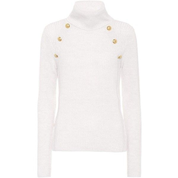 8333ff311bb Veronica Beard Merino Wool Sweater ( 485) ❤ liked on Polyvore featuring tops