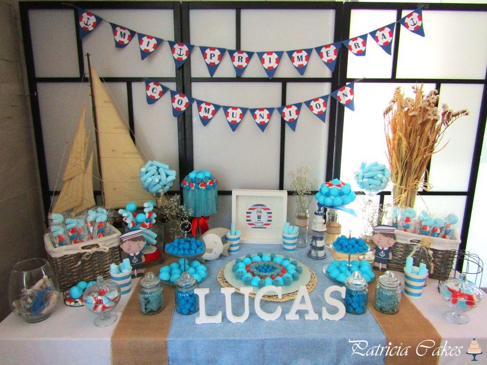 Mesas De Chuches Para Comunion De Nino Comunion Pinterest Cake