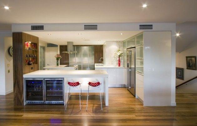 Enclosed Kitchen  Brisbane Australia  Designsublime Cabinet Fair Kitchen Designer Brisbane Inspiration Design