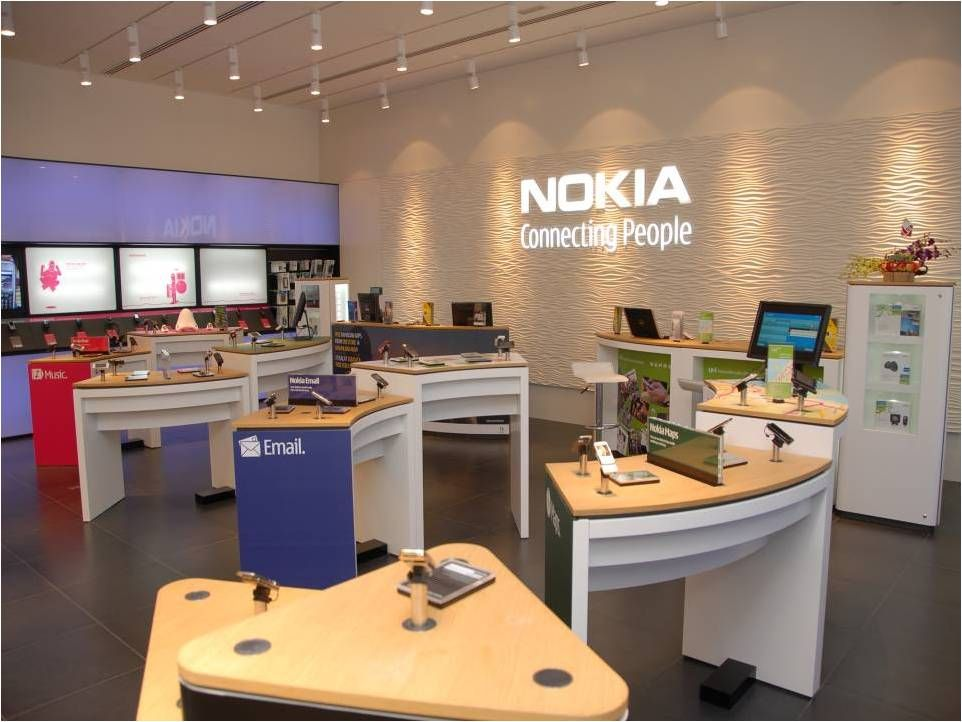 Nokia Store Mall Of Emirates Dubai Electronics Store Design