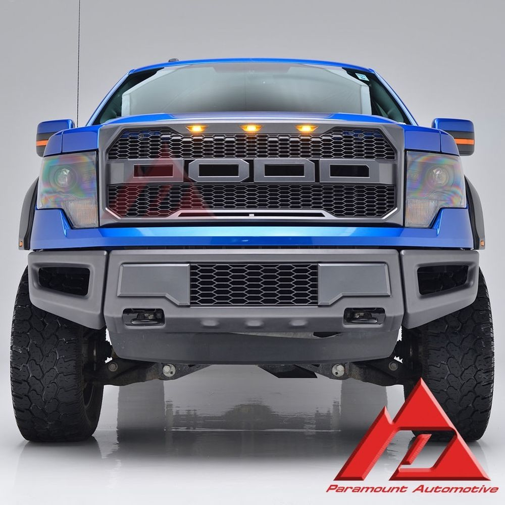 41 0158 Paramount 09 14 Ford F 150 Raptor Style Packaged Grille Ford Trucks Ford F150 Trucks