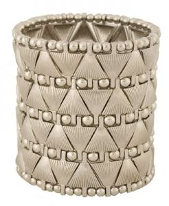 Forever21  Interlocked Triangles Bracelet