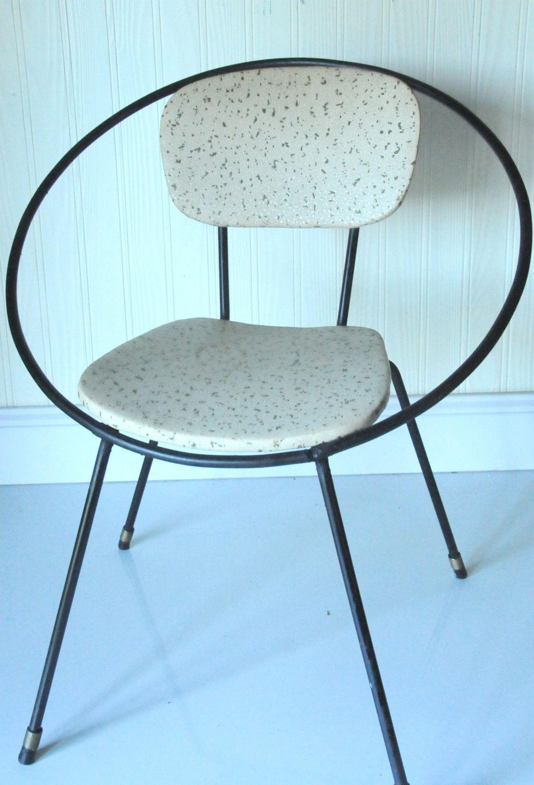 Incredible Vintage Childrens Chair Eames Era Midcentury Modern Kids Creativecarmelina Interior Chair Design Creativecarmelinacom