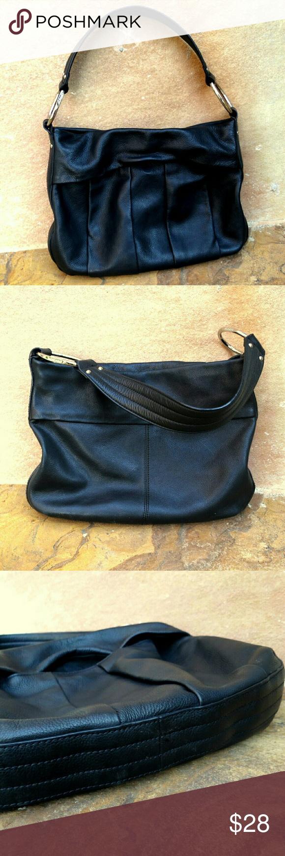 ... cheap for discount 129fd 1f5ee Alfani Leather Purse Black Hobo Handbag  Simple classic large Alfani Leather ... ea18f5ec01