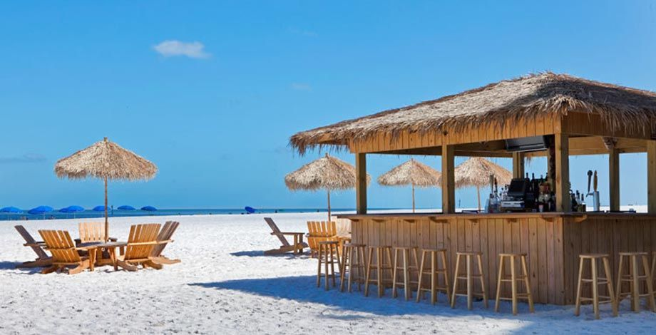 Hilton clearwater beach beach bar girls weekend ideas for Beach bar ideas