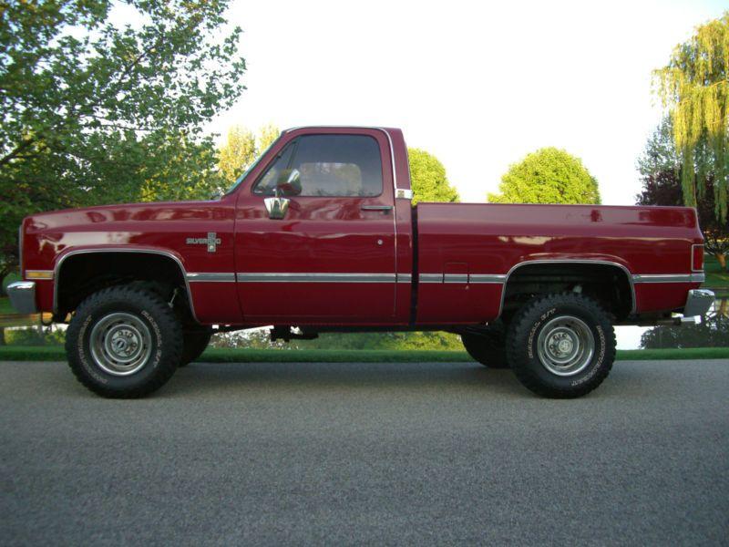 1986 Chevy Silverado Shortbed Chevrolet Trucks Chevy Trucks