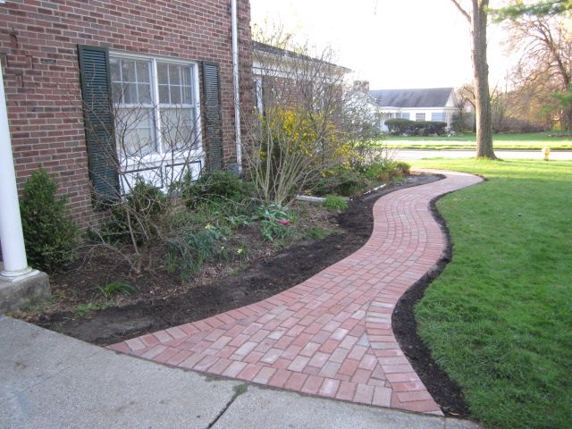 Paver Walkway Updates Historic Home In Ypsilanti Paver Walkway