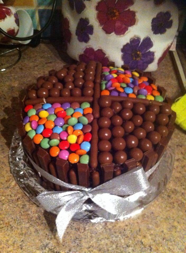 Smartie Filled Cake Recipe