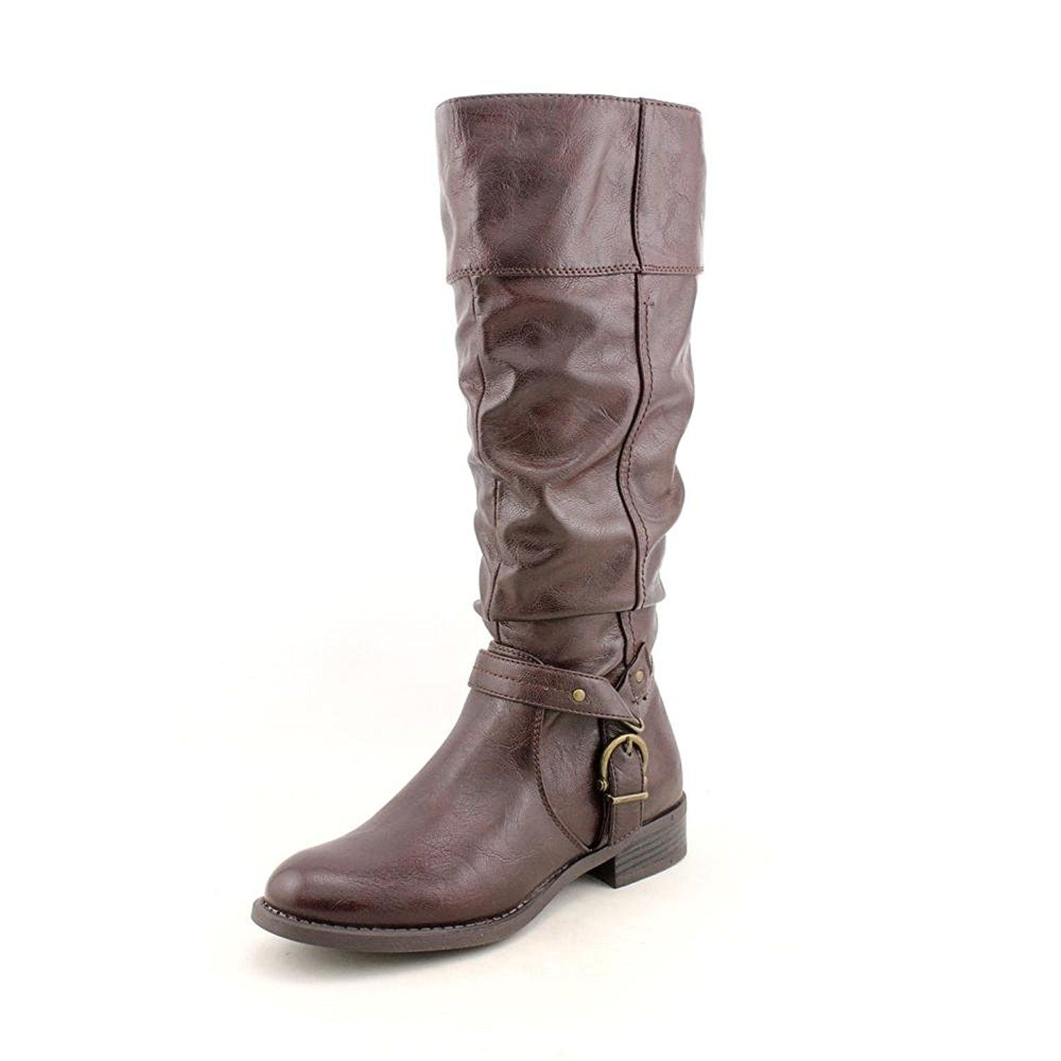 adb2c00efe7ad White Mountain Lefty Womens Size 11 Brown Fashion Knee-High Boots ...