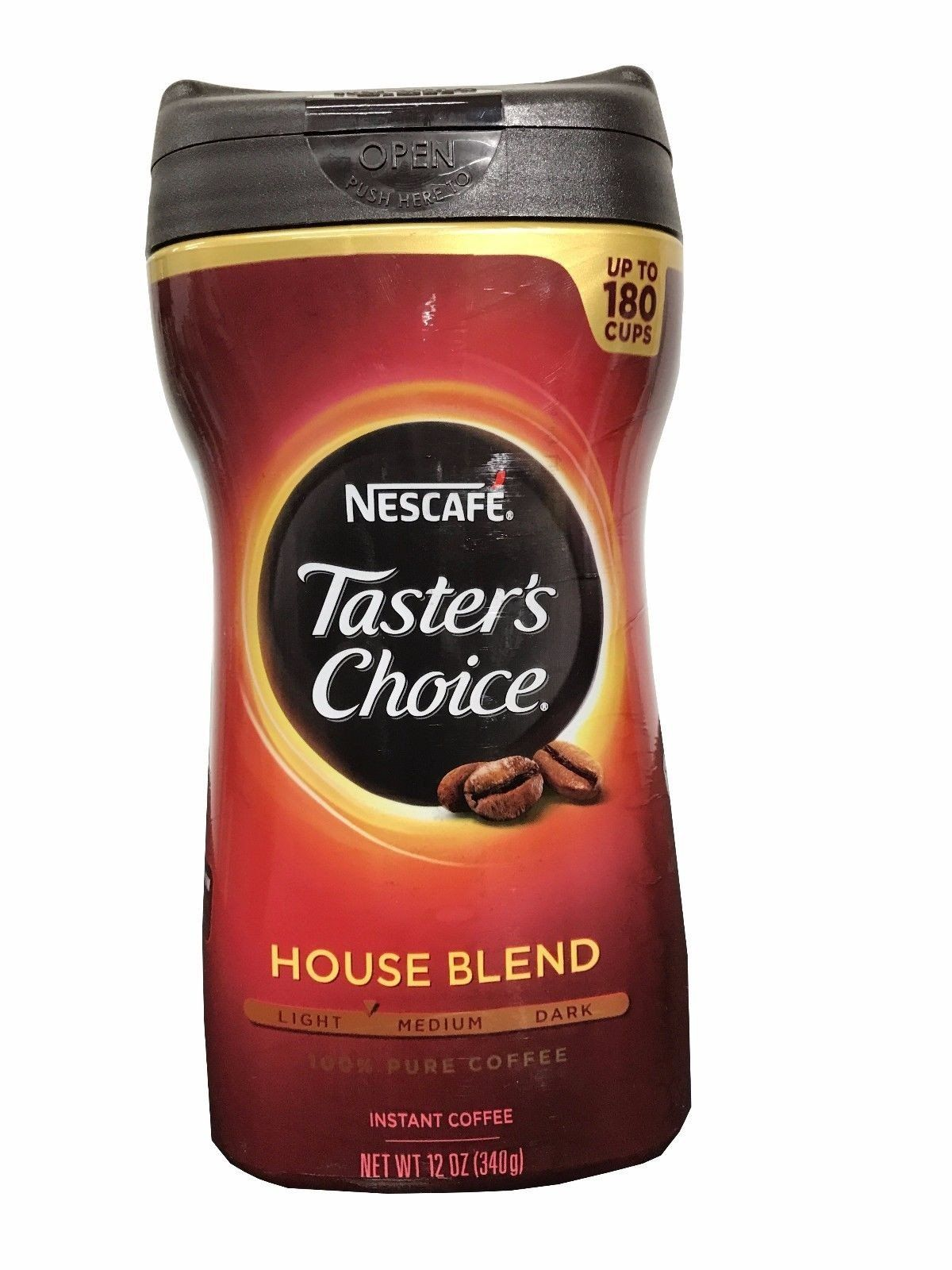 Nescafe Taster's Choice House Blend 100 Pure Instant
