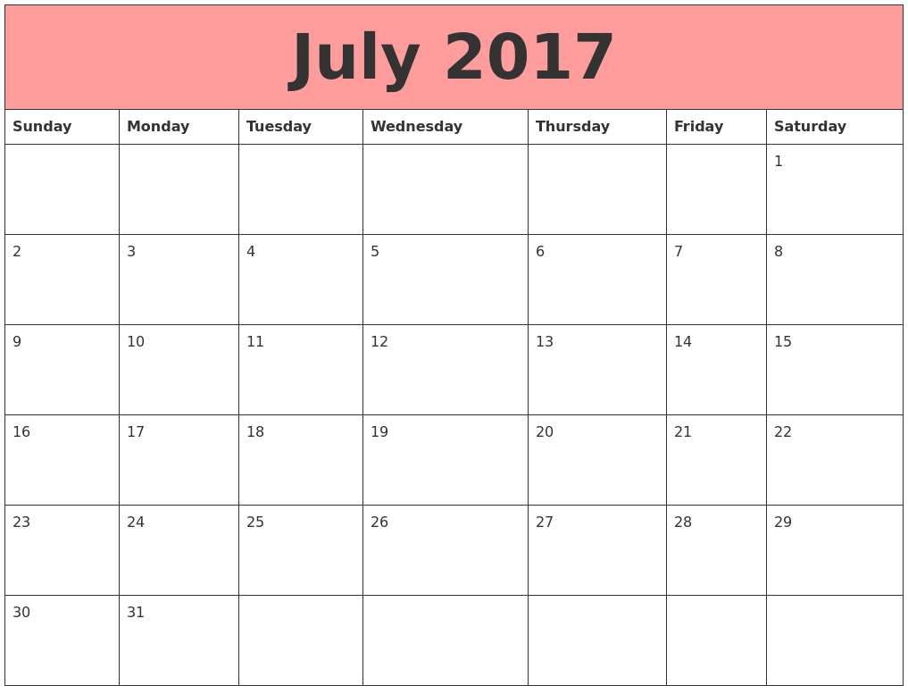 Calendar Ideas For July : July calendar usa pinterest