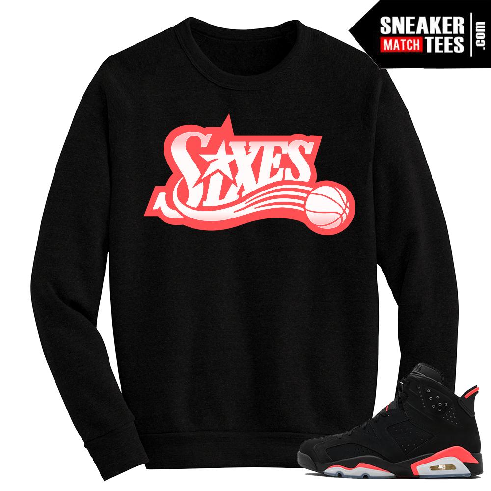 Sneaker tees to match Jordan Retro 6