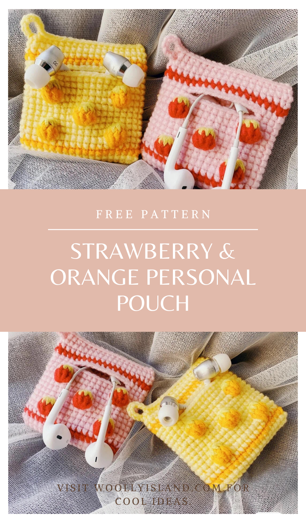 Photo of Strawberry & Orange Personal Pouch –