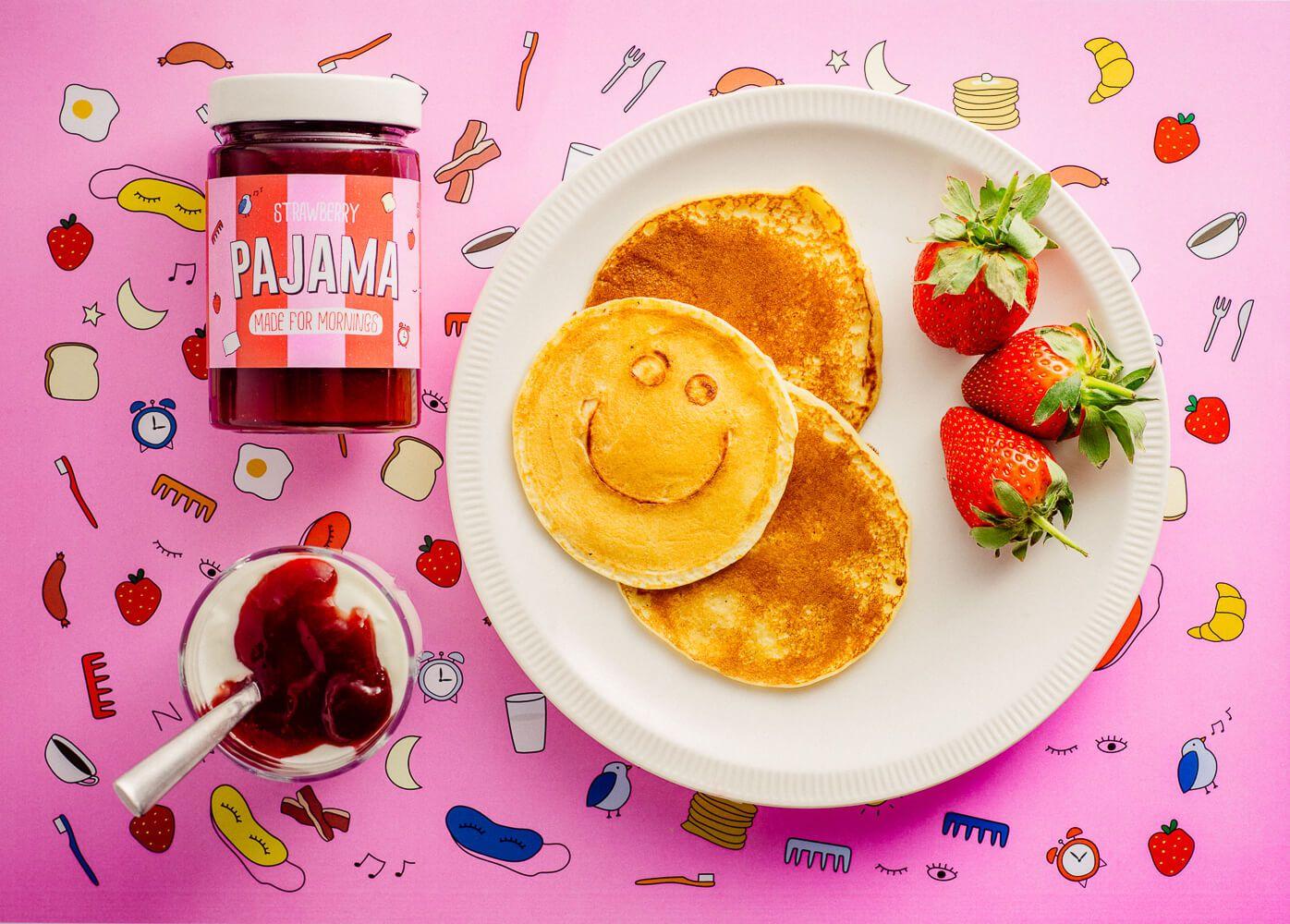 Pajama Jam Brand Creation and Packaging Design Pajamas