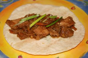 Slow Cooker Sunday:  Moo Shu Pork