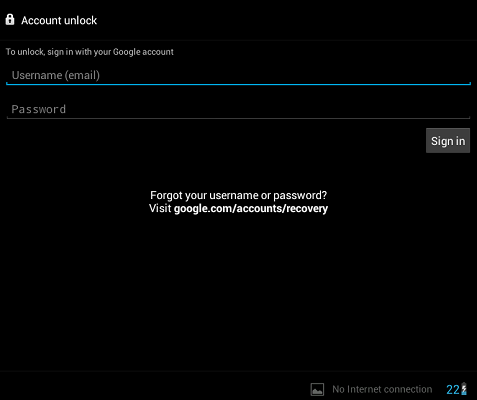 Recover Android Device in case of Forgot password/pattern unlock an
