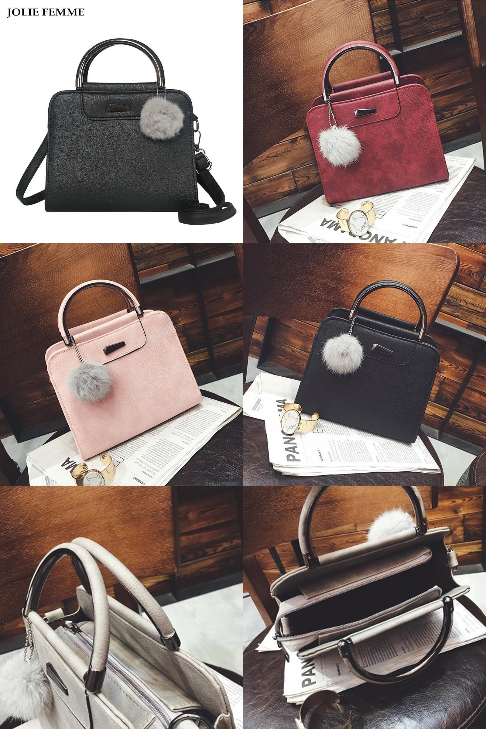 05e2df1d2dc3 Visit to Buy] JOLIE FEMME Korean Women Mini Tote Handbag Small ...