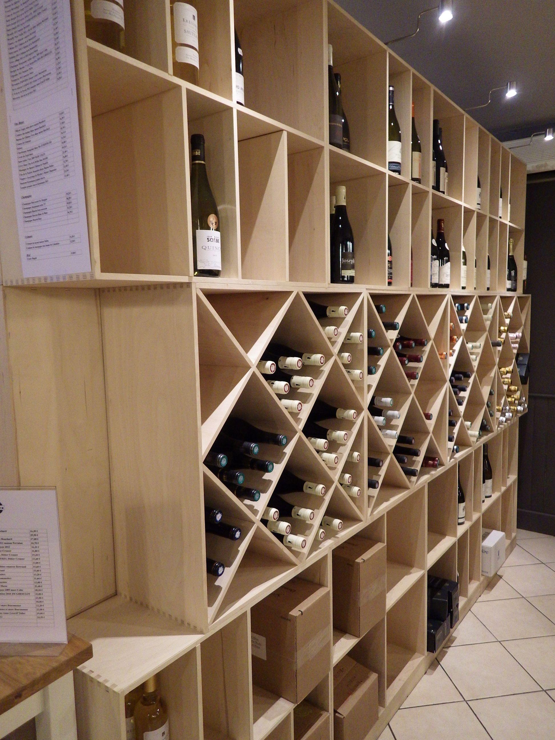 Oltre 25 fantastiche idee su meuble range bouteille su pinterest range bout - Fabriquer casier vin ...