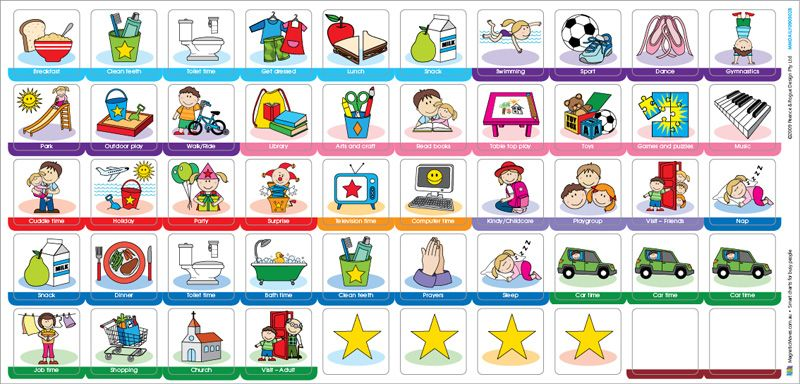 Handy image pertaining to children's routine charts free printable