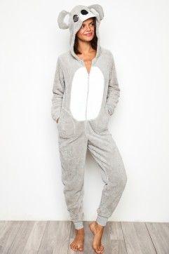 Image of: Grey Koala Koala Bear Onesie Pinterest Koala Bear Onesie Koalas Onesies Onesie Pajamas Pajamas
