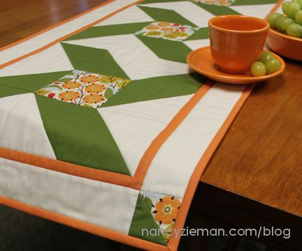 10 table runner sewing tutorials nancy zieman fall table and patterns nancy ziemans table runner sewing and quilting pattern round up watchthetrailerfo