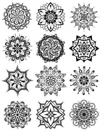 Henna Ideas   mendela &doodling   Pinterest   Mandalas, Tatuajes y ...