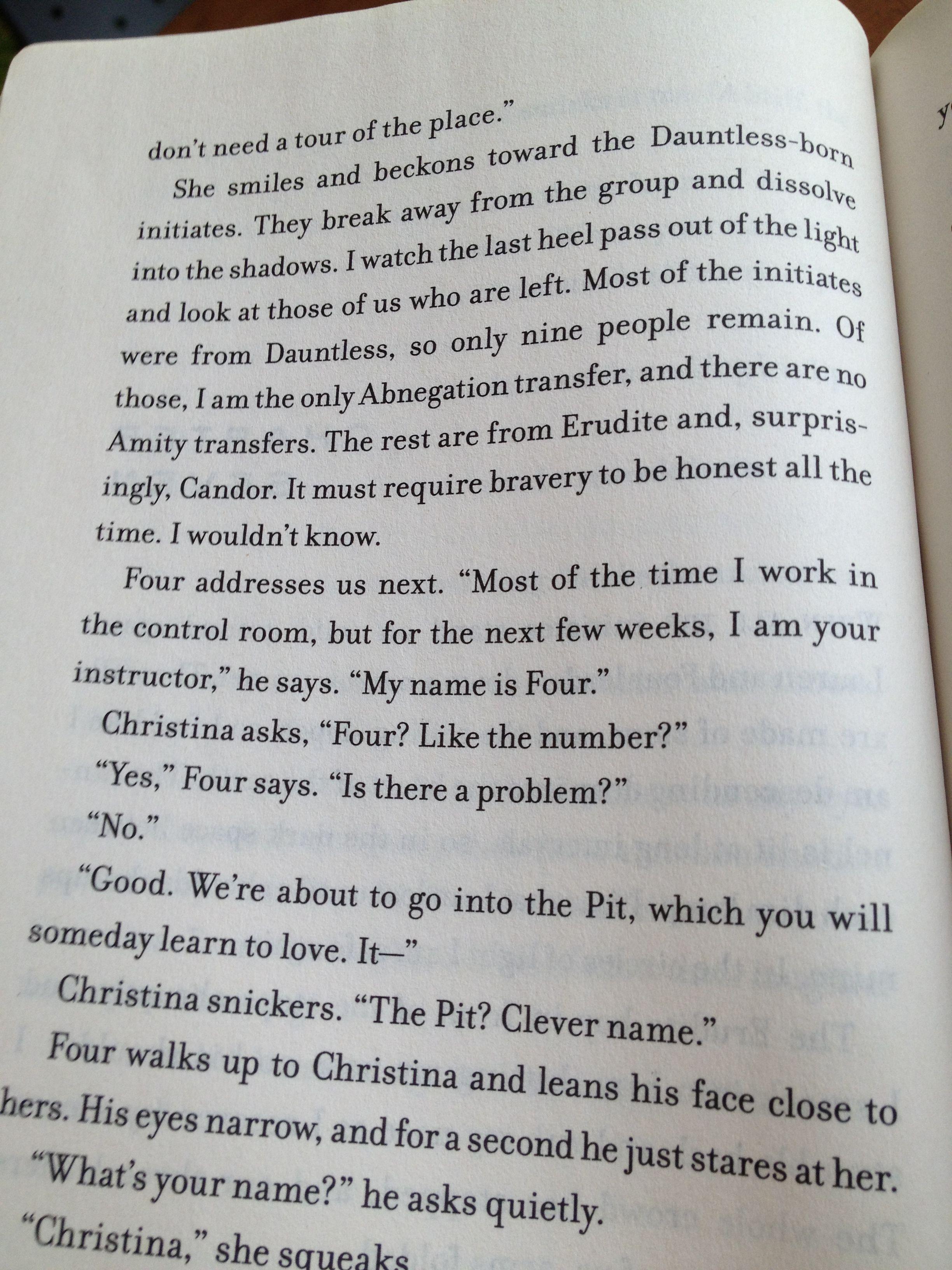 Page 62 Of Divergent Four 3 Divergent Quotes Divergent Divergent Series