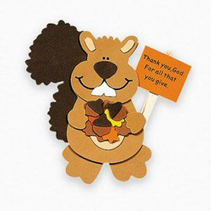 Squirrel crafts for preschoolers crafts for christians for Craft kits for preschoolers