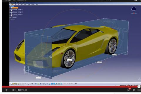 How to model Audi R8 using sketch tracer in catia v5